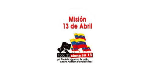 Mision 13 de abril